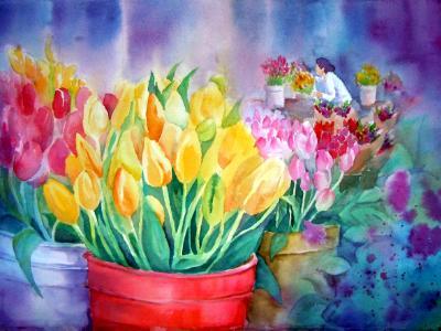 Market Tulips