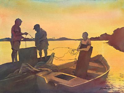 Marsala Fisherman