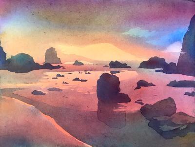 Bandon Sunset Glory